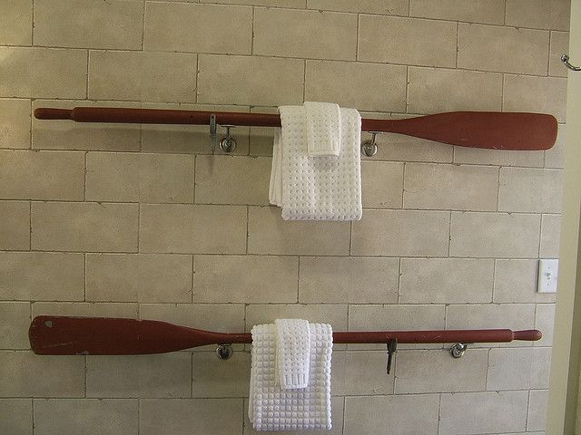 Cool Towel Rack Lake House Bathroom Lake House Lake Decor