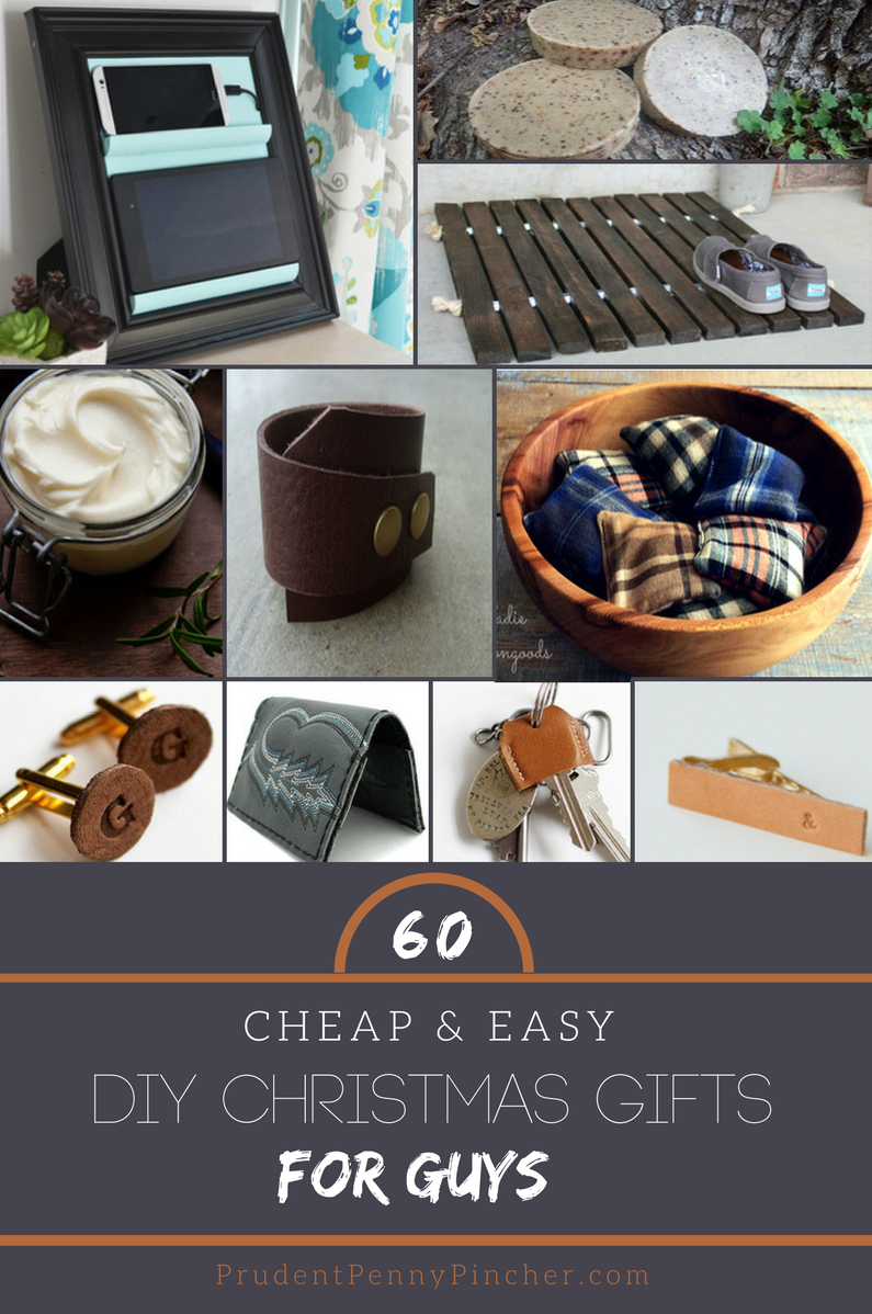 60 Cheap Easy Diy Christmas Gifts For Guys Easy Diy Christmas