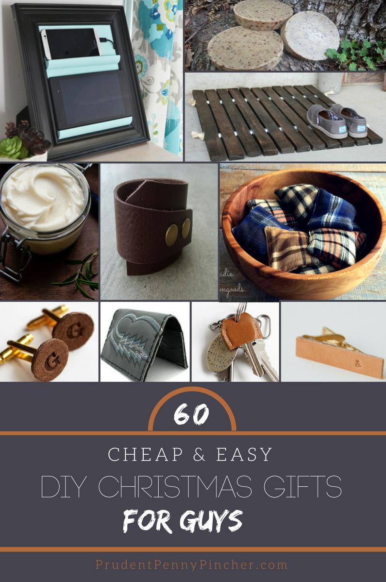 60 Cheap Easy Diy Christmas Gifts For Guys Easy Diy Christmas