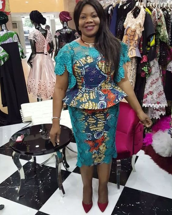 2019 Most Beautiful Ankara Skirt And Blouse Styles For Wedding Guest Correct Kid Latest African Fashion Dresses African Print Dresses African Clothing