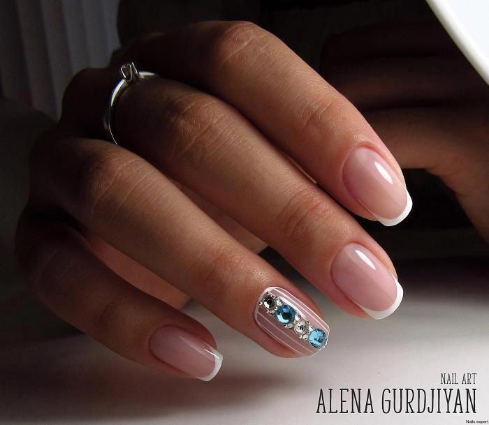 french nails oval Ombre  french nails oval Ombre  french nails oval Ombre  french nails oval Ombre