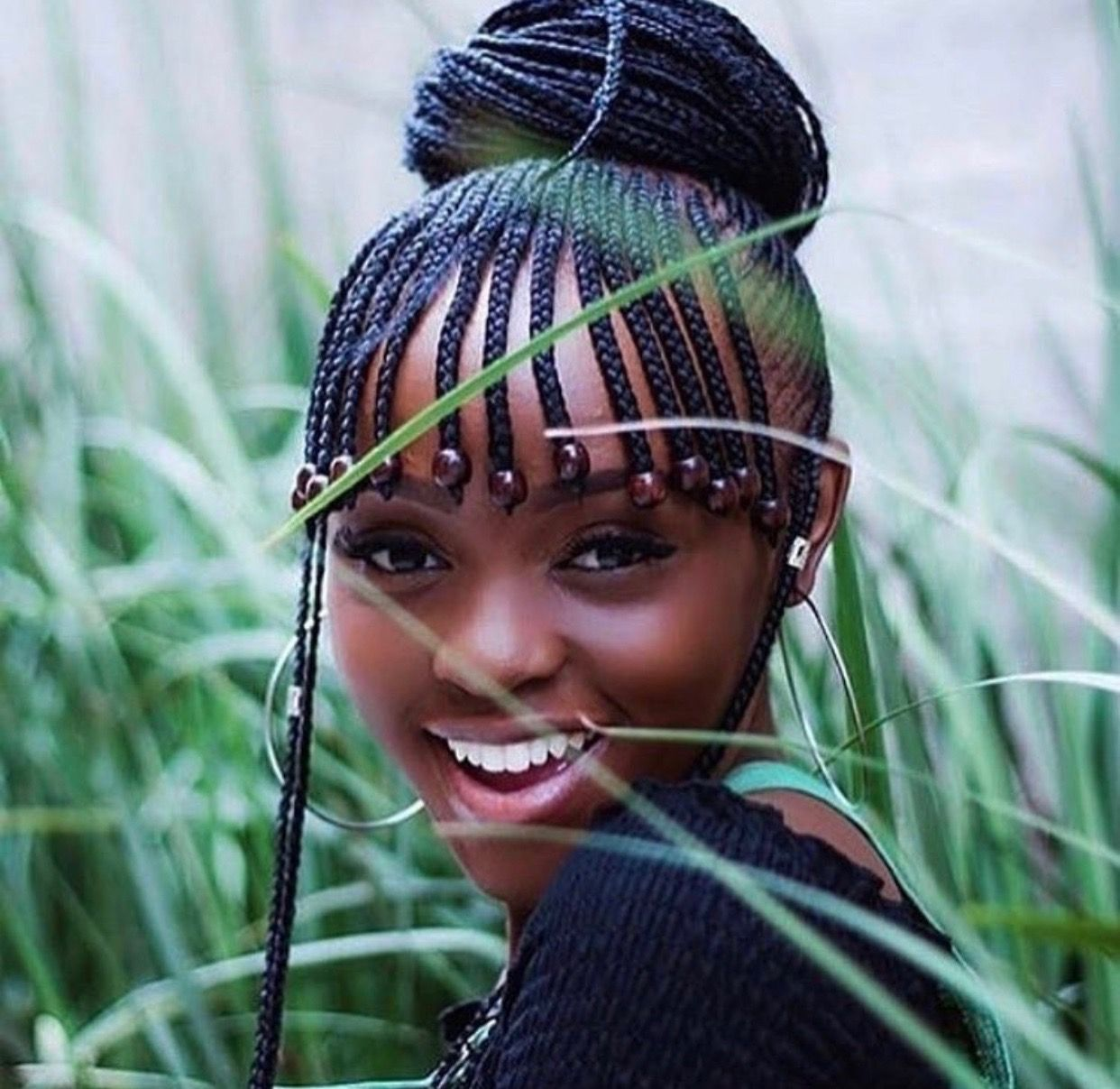 Braided Hairstyles For Black Women Dark And Lovely Natural Hair