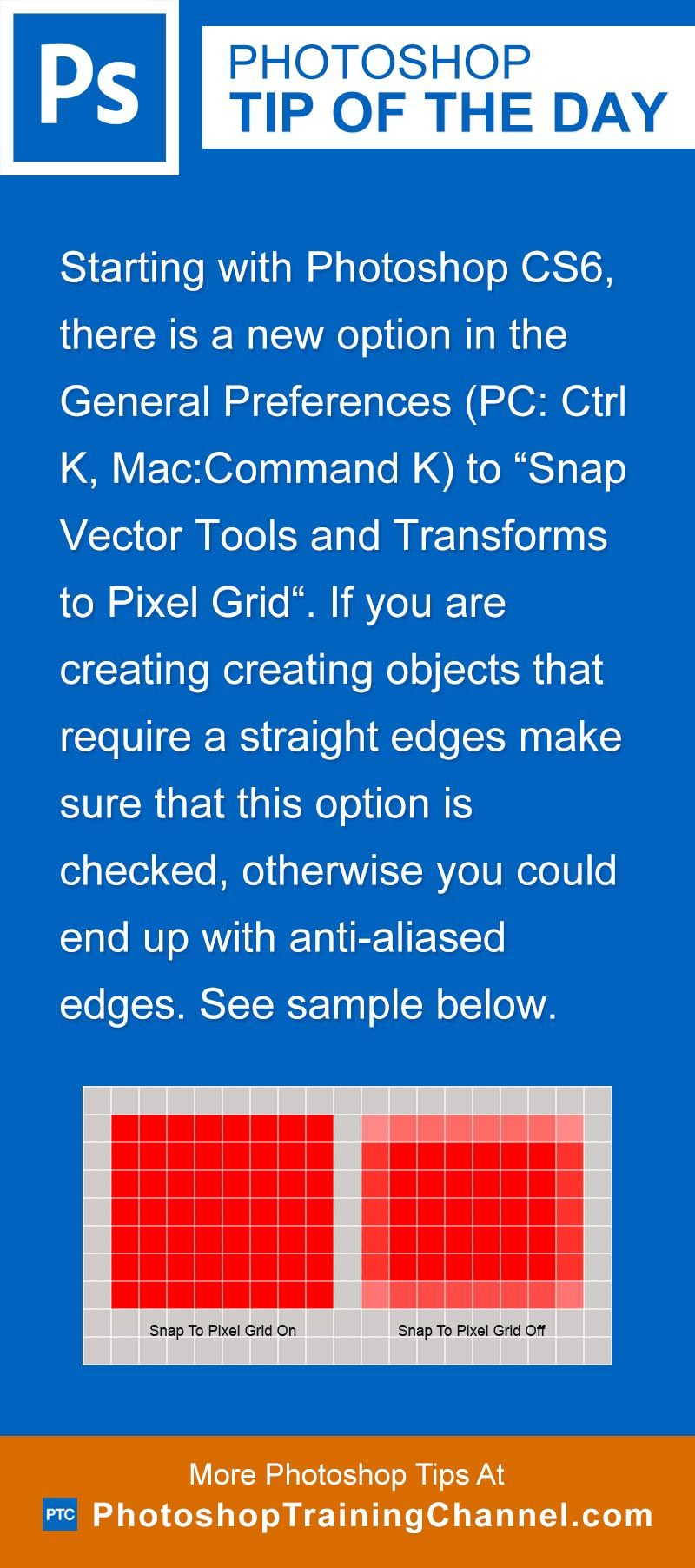 Snap Vectors To The Pixel Grid   Photoshop Tips   Photoshop