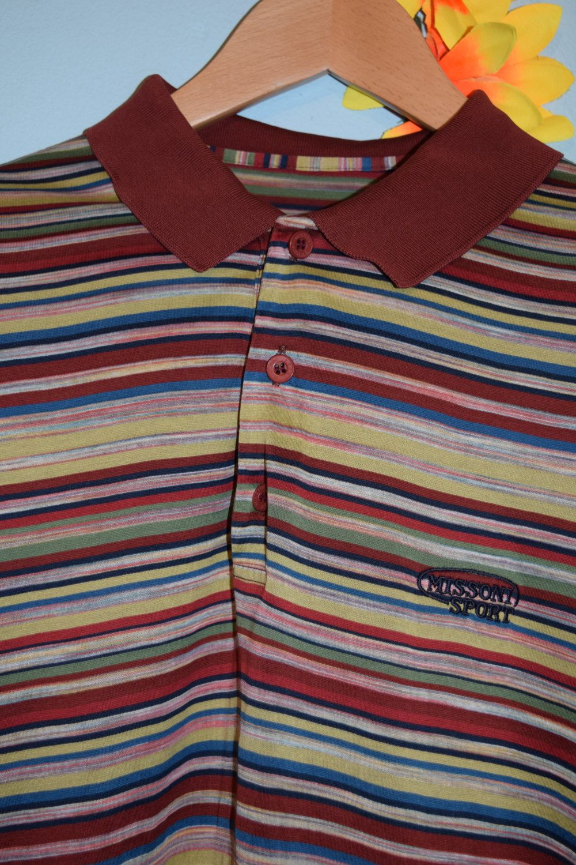 Vintage 90s Missoni Sport Polo Shirt By Jampops On Etsy Sports