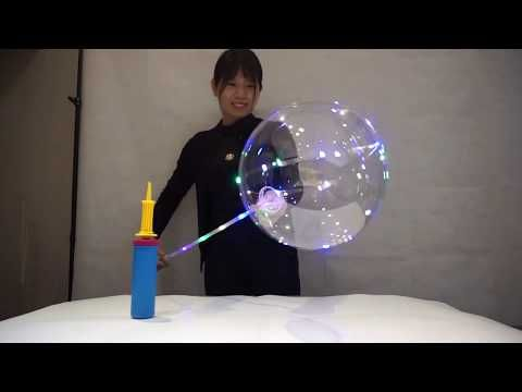 How to Make the LED bubble balloon