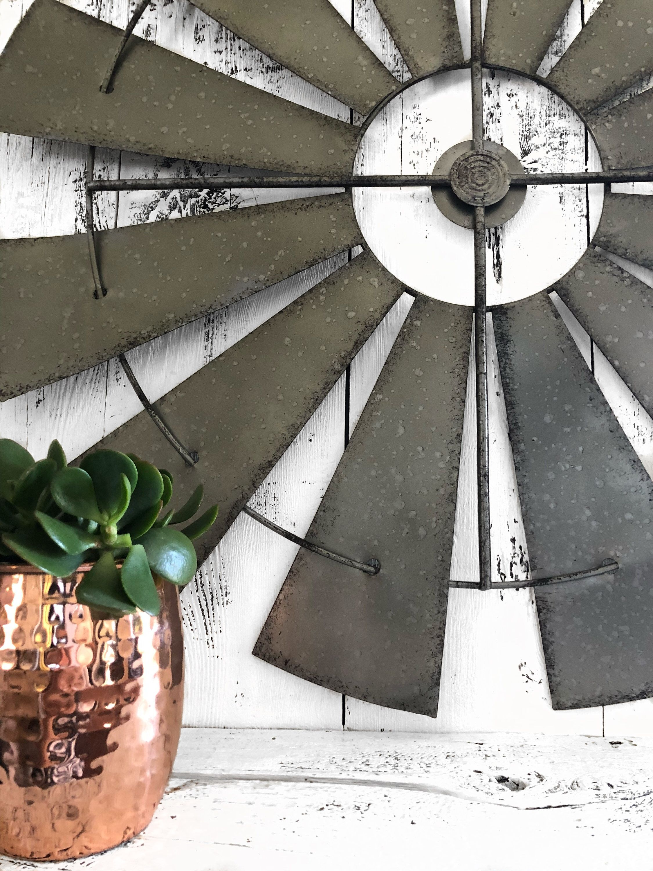 Windmill Wall Decor Farm Windmill Home Wall Deco Modern Farm