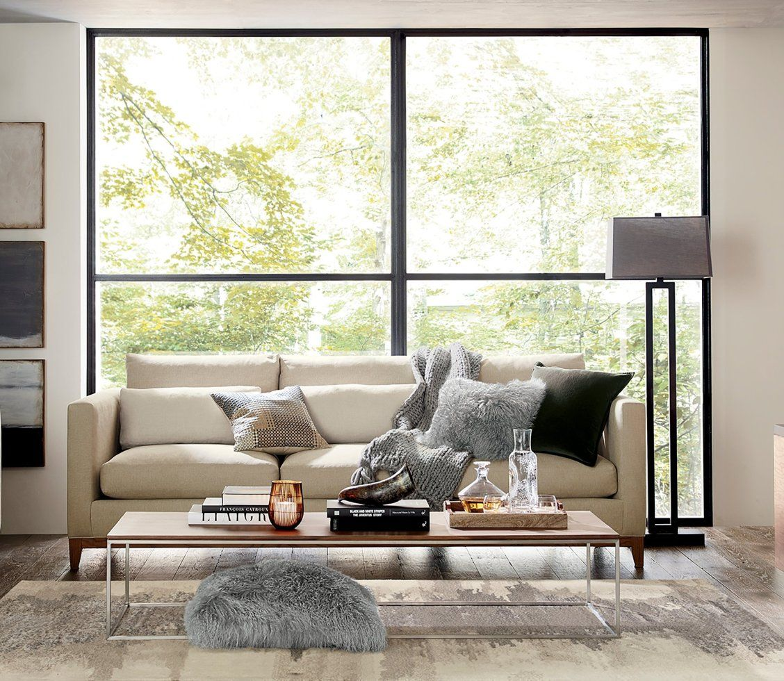 54 Comfortable And Cozy Living Room Designs: Our 3-seat Sofa Is Casual, Yet Elegant For A Cozy Living