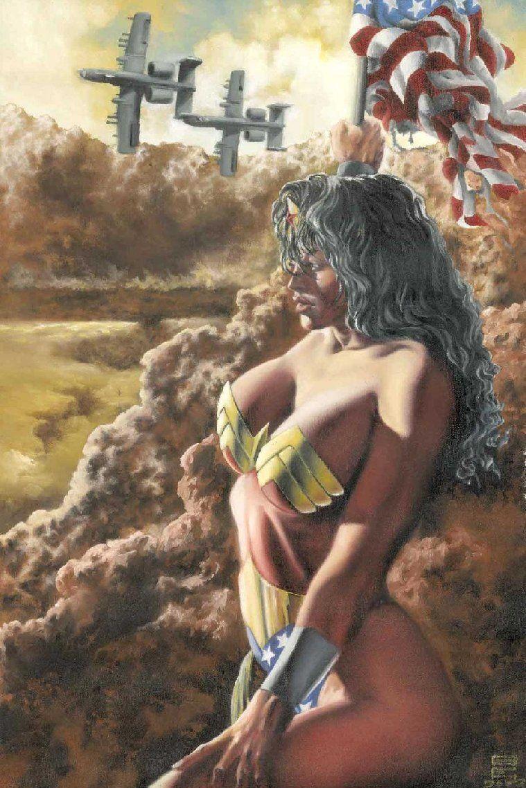 Wonder Woman by Gene Espy