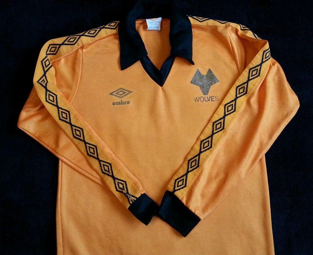 Umbro Wolverhampton Wanderers Wolves Home Shirt 1979 82 Adults