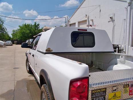 Pickup sleeper cab