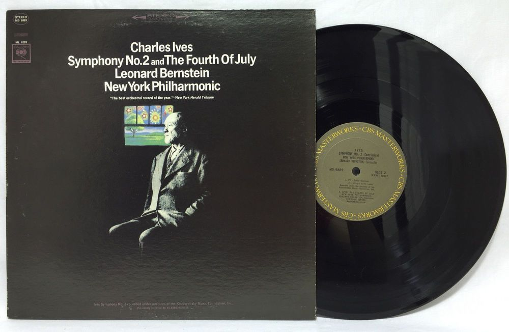 Leonard Bernstein Charles Ives Symphony No 2 Fourth Of July