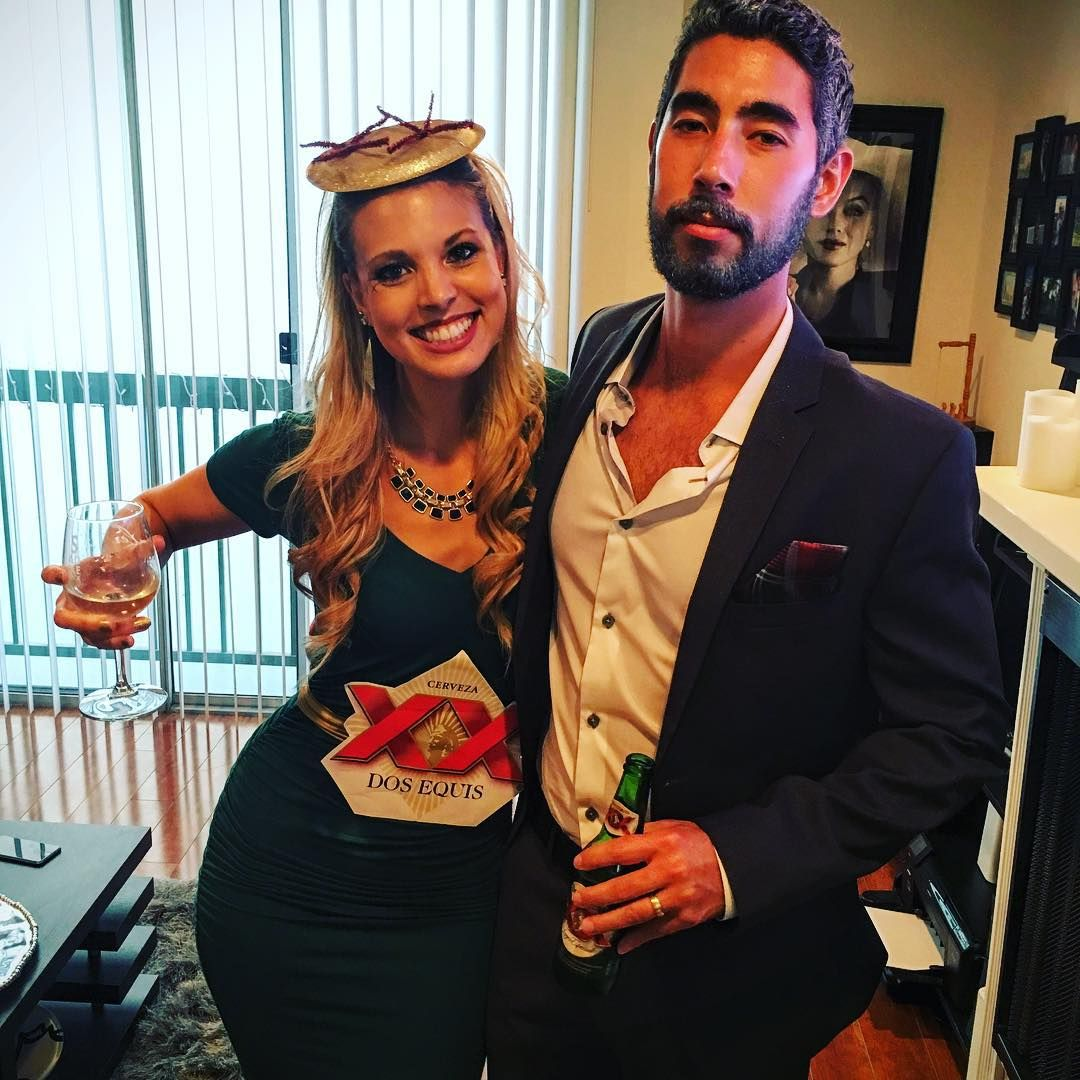 36 Couples Costume Ideas That Are Ridiculously Cheap  sc 1 st  Pinterest & Dos Equis and the Most Interesting Man in the World | Couple costume ...