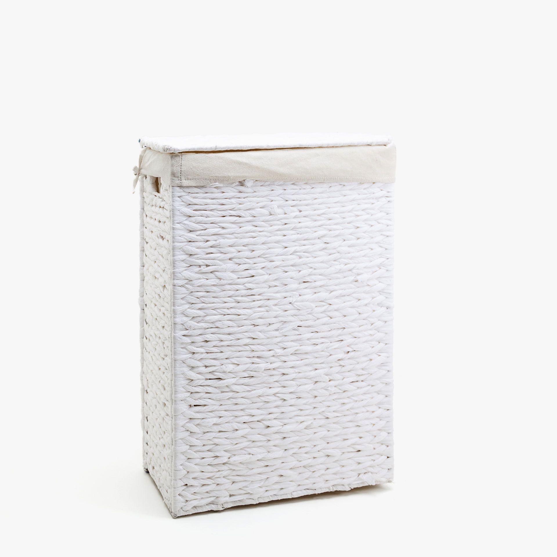 Bild 1 Des Produktes Geflochtener Waschekorb Mit Deckel Waschekorb Mit Deckel Waschekorb Korb Dekoration