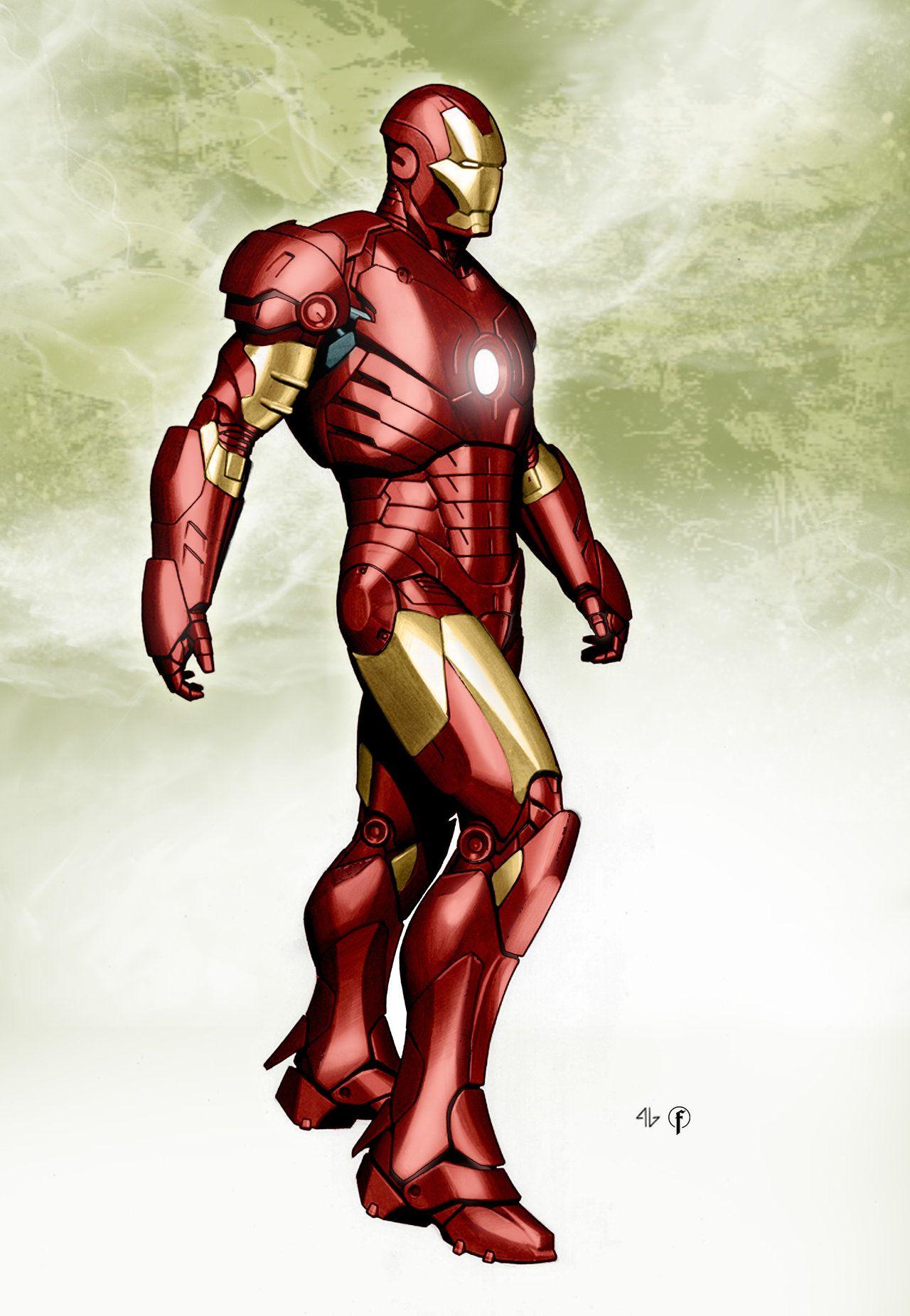 Coloring Adi Granov 3 By Riccardo Fasoli On Deviantart Iron Man Marvel Iron Man Iron Man Tony Stark