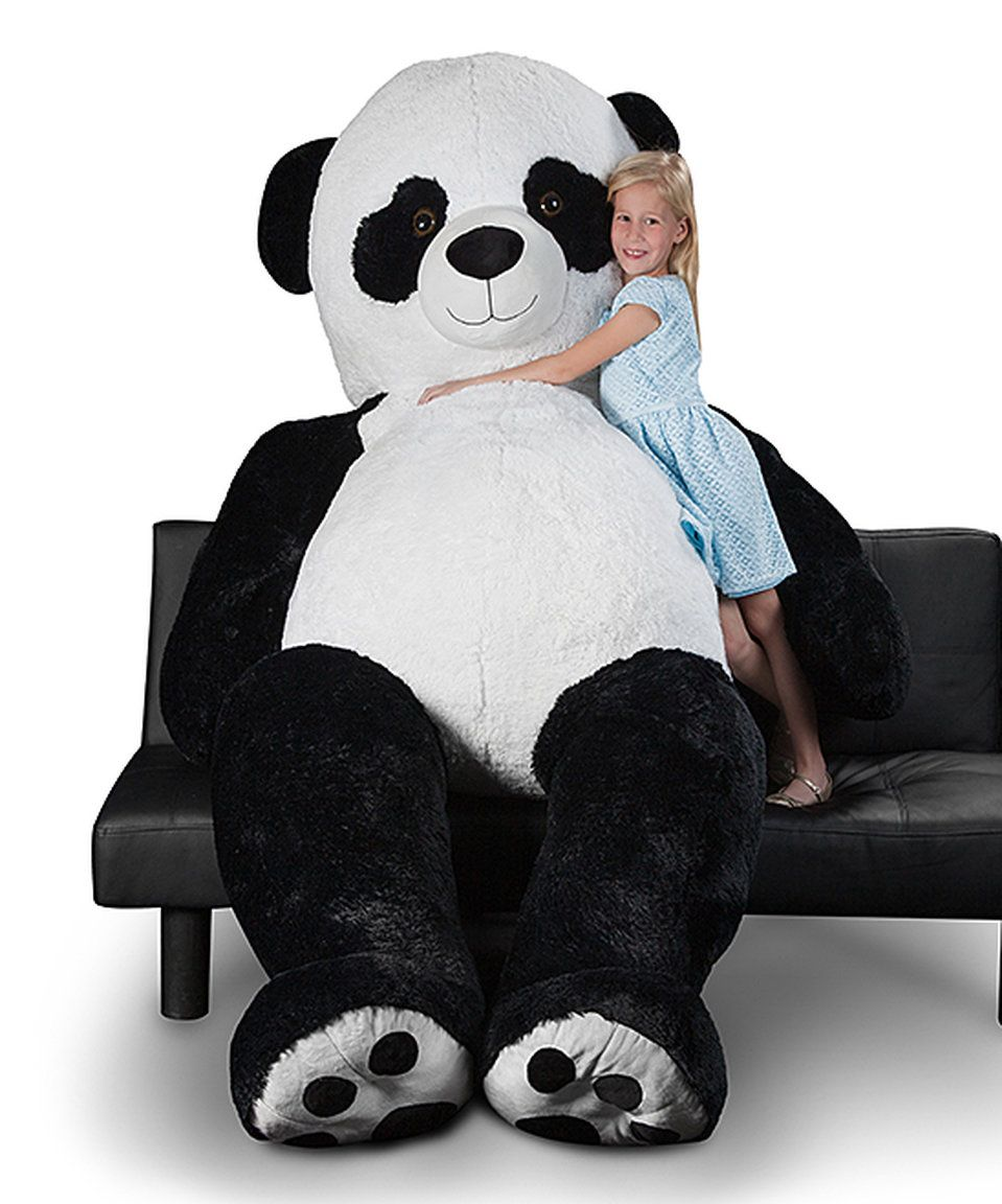 Take A Look At This 94 Giant Panda Bear Plush Today Zulily