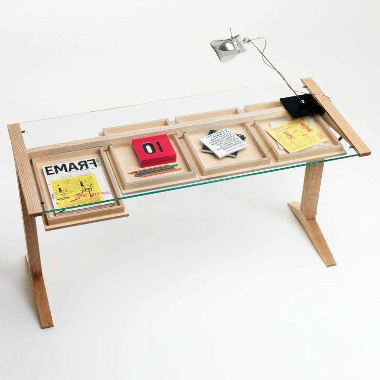 Home Office Schreibtisch U2013 39 Attraktive Und Moderne Modelle   Dekoration  Gram