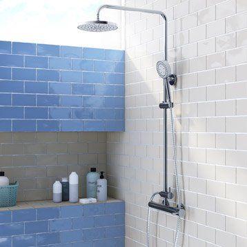 Faïence mur bleu, Bakerstreet l75 x L15 cm cuisine Pinterest - enlever carrelage salle de bain