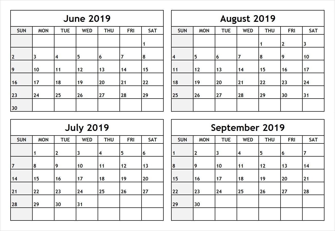 Pdf June July 2019 Calendar July Calendar August Calendar