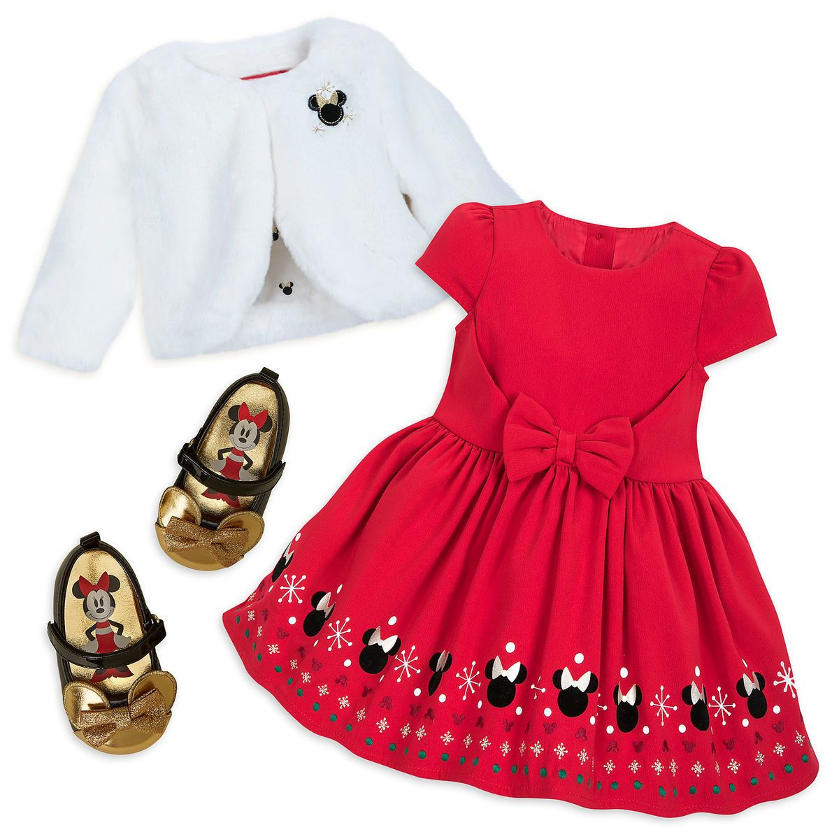 Minnie Mouse Christmas Dress.Minnie Mouse Holiday Collection For Baby Disney Store