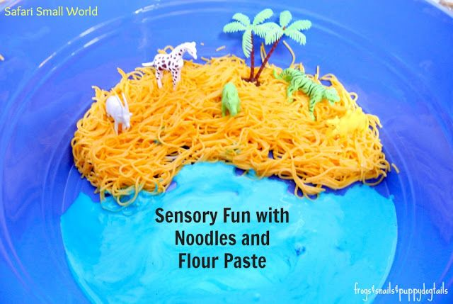 Safari Small World Sensory Play With Frogs Amp Snails