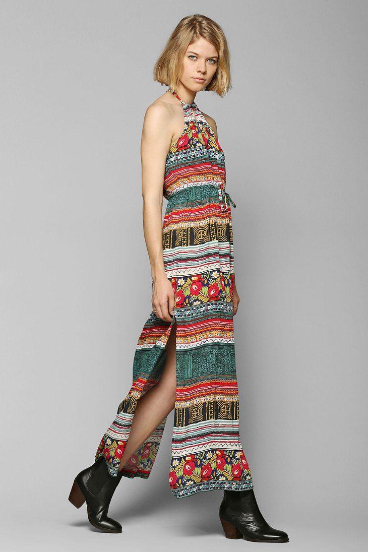 MINKPINK Folk Frenzy Maxi Dress
