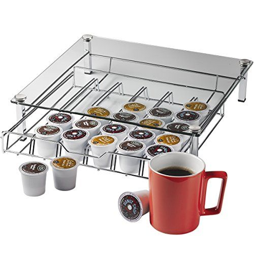 Home it Glass k cup holder High quality k cup storage Holder Holds