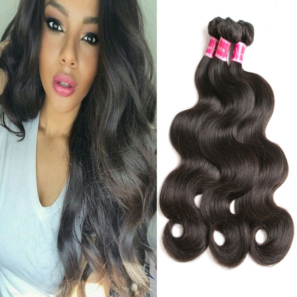 Peruvian Wavy Hairstyles Peruvian Virgin Hair Body Wave Bundles 1pc Peruvian Hair Weave