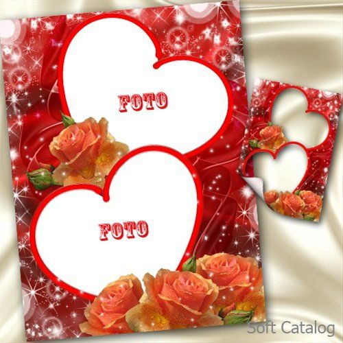 Love Photo Frames Free Download | Love Flower Frame | All Frame ...