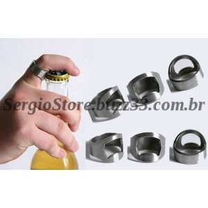 Anel Abridor De Garrafa Crom Alta Qual Beer Holders Beer Man