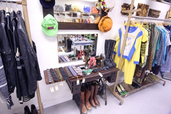 How to open a vintage clothing store, naked hot white girls