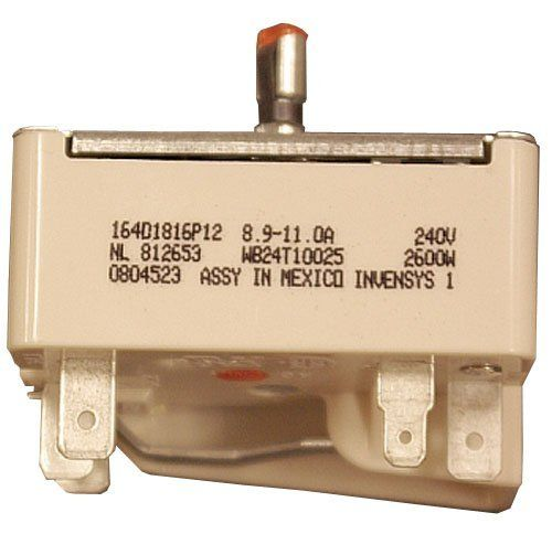 Ge Wb24t10025 Electric Range Infinite Switch 8 Inch By Ge Save 17 Off 17 24 From The Manufacturer Gen Electric Range Electricity Ge Ranges