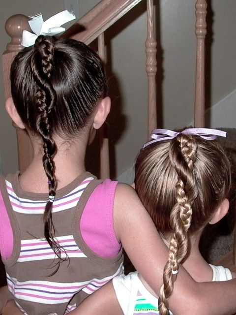 Cool Hairstyles For Little Girls On Any Occasion School - Hairstyle for girl to school