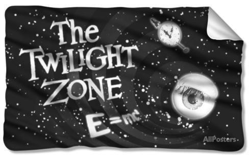 Twilight Zone - Another Dimension Fleece Blanket Fleece Blanket at AllPosters.com
