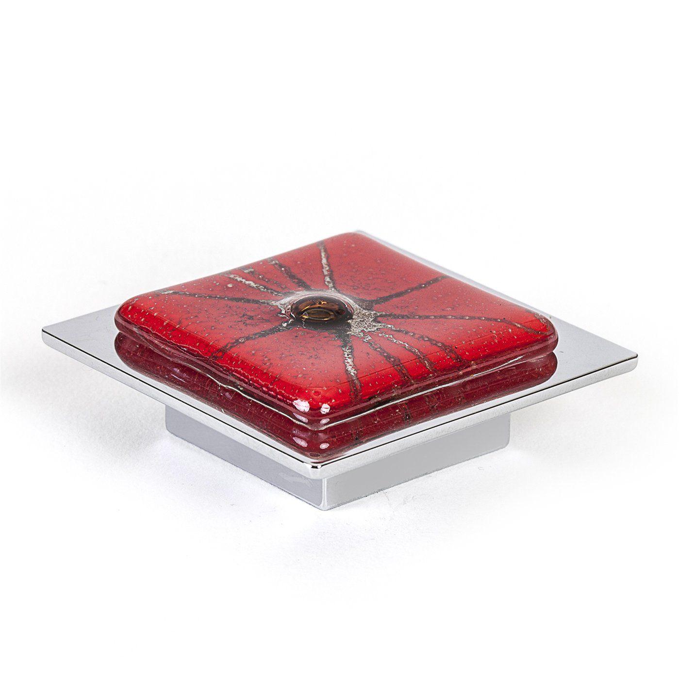 R Christensen 9675 1000 C Radiants Red Cabinet Knob - Atg Stores