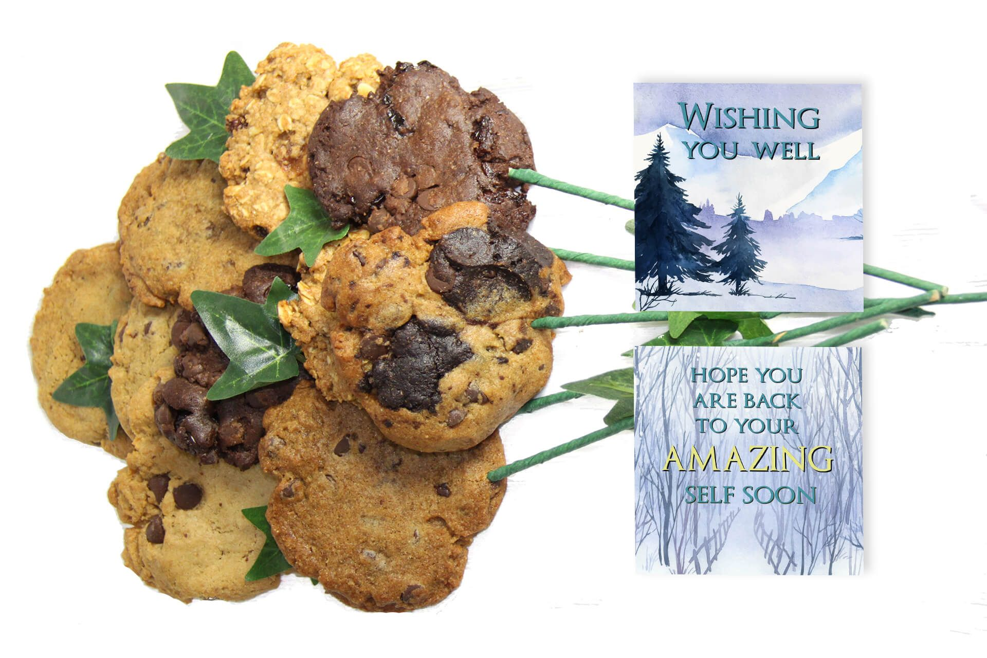 Wishing You Well Cookie Bouquet Cookie bouquet, Cookies