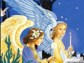 Hd Christmas Cute Desktop Wallpapers Free Download Angel Wallpaper Angel Art Christmas Scenes Wallpaper