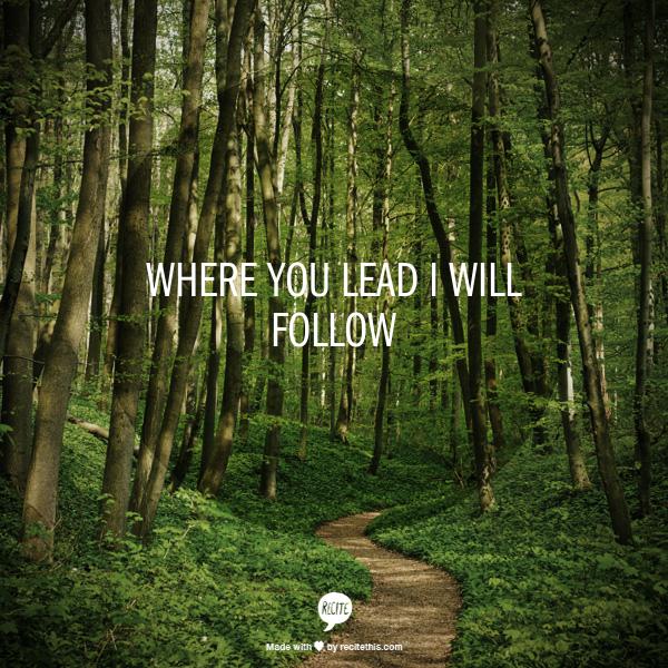where you lead I will follow  http://www.stumbleupon.com/su/3WRzEy/:7XkJV9!:Q.nSF69e/recitethis.com/