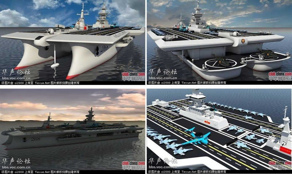 China Future Aircraft Carrier Concepts. China has declared ...