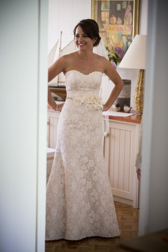 Wendy Makin Ellie Lace Size 10 Wedding Dress For Still White