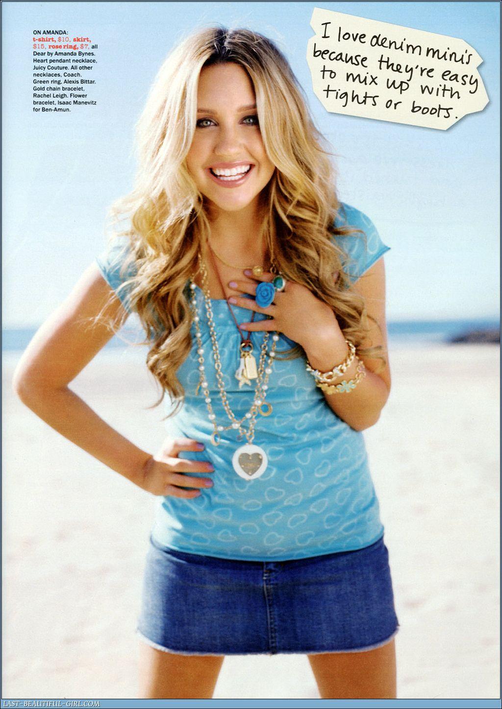 Amanda Bynes Seventeen Magazine Amanda bynes, Early