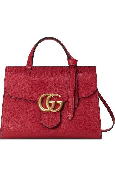 gucci bags at nordstrom. gg marmont top handle leather satchel. gucci bagsleather bags at nordstrom m