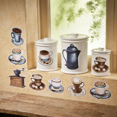 Coffee Decorations Kitchen On Coffee Cup Kitchen Decor Images