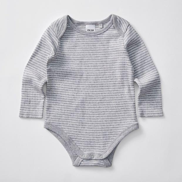 Baby Organic Cotton Stripe Bodysuit – Target Australia 34ad21d60