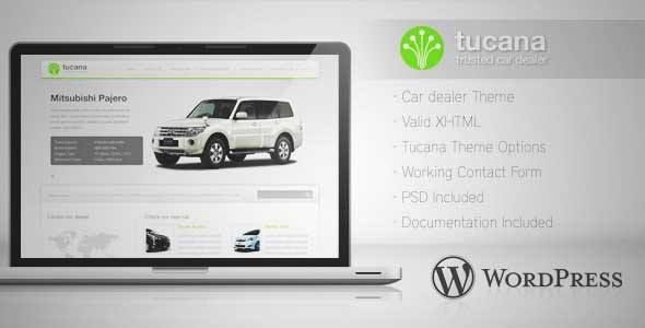 Download and review of Tucana - Car Dealer Wordpress Theme, one of ...