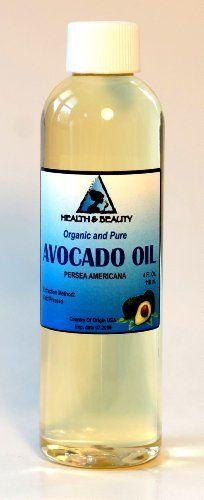 Avocado Oil Organic Carrier Cold Pressed Premium Fresh 100