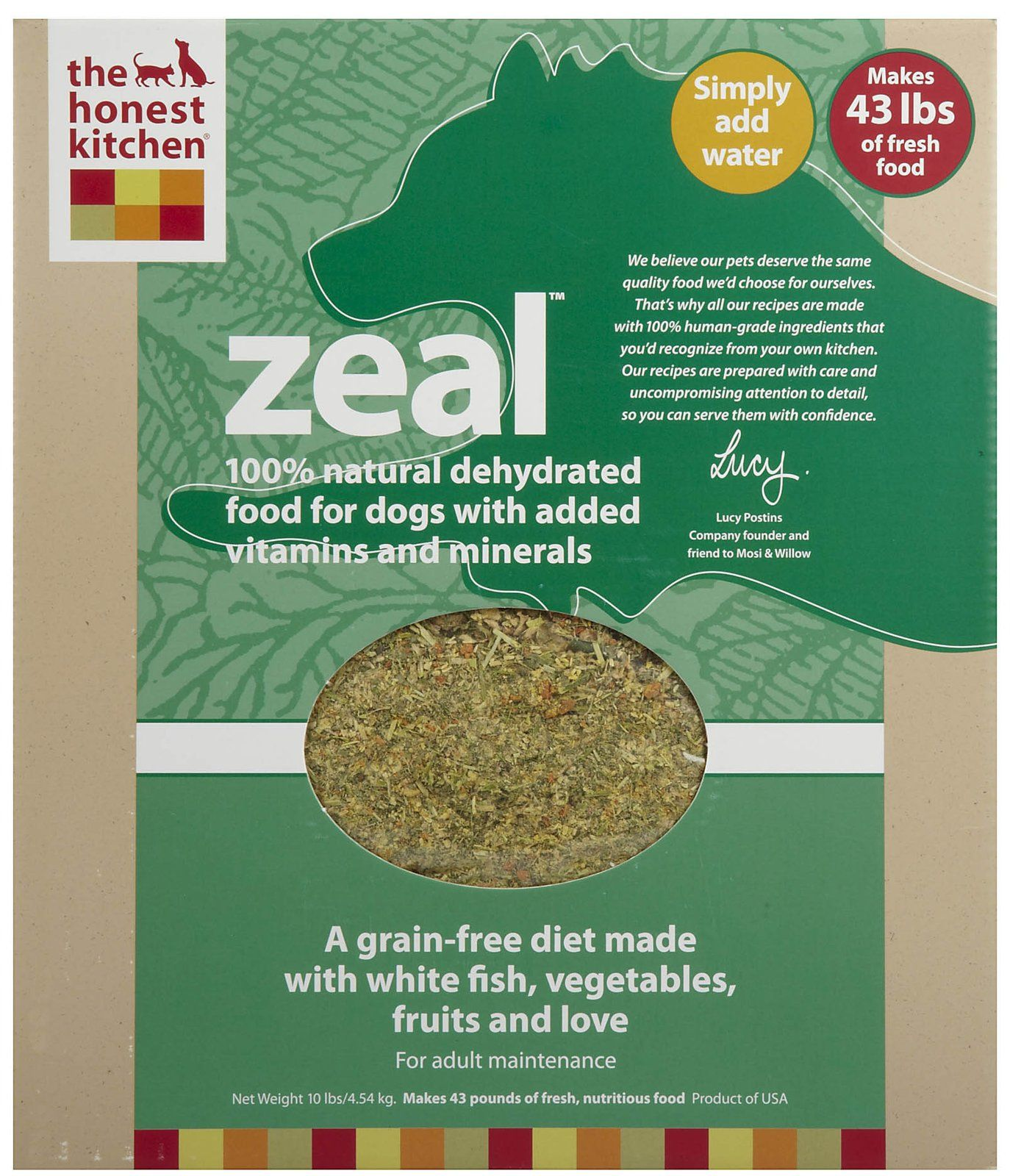 37++ The honest kitchen zeal information