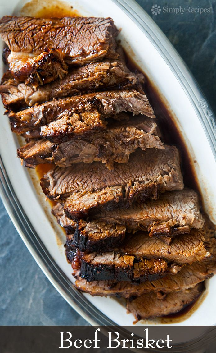 Beef Brisket Easy Oven Baked Simplyrecipes Com Recipe Easy Beef Brisket Recipe Beef Brisket Recipes Simply Recipes