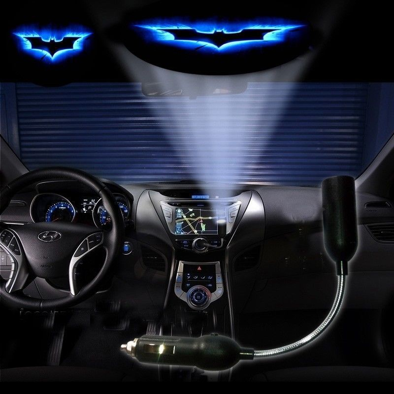 Batman Logo Car Cigarette Laser Projector Ghost Shadow Decorative ...