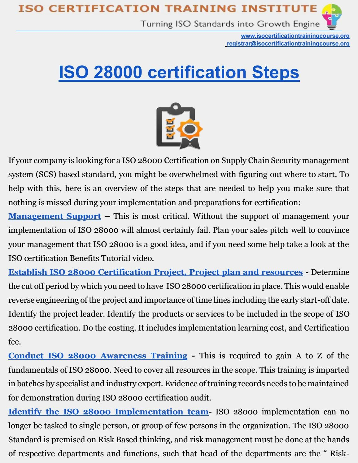 Iso 28000 certification chains iso 28000 certification xflitez Images