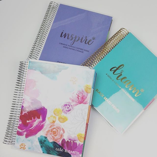 New covers and a new #eclp for my new business venture. Gahhhhh! I just love new #plannergoodies  Just my luck that I would order these a few days before she released her new covers.  #erincondren #erincondrenaddict #erincondrenlifeplanner #eclp #eclifeplanner #plannercommunity